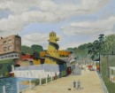 Kenneth Shirley Smith (1900-1987), 'Vale of Health Fair', oil on canvas, 1938