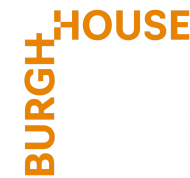 BH logo orange corner