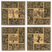 The Four Seasons tiles (verso)
