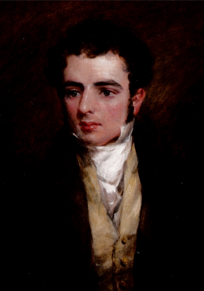 Dr. Herbert Norman Evans by John Constable, oil on canvas,1829  On loan to Burgh House by the Revd. Norman Evans